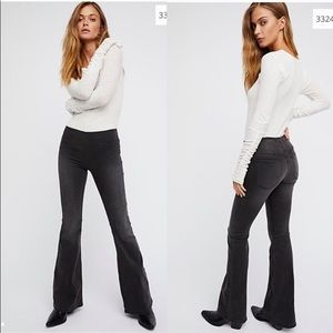 NEW Free People Penny Pull On Flares